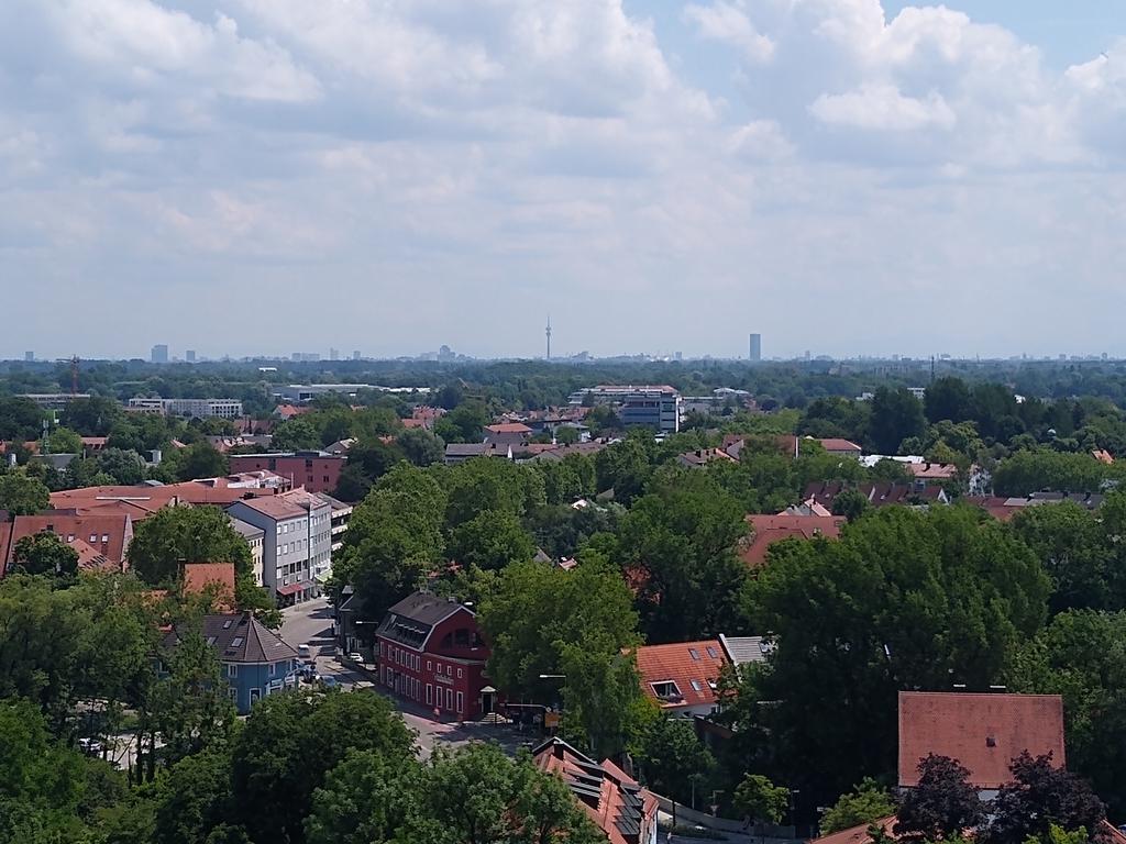 Ausblick von der Dachauer Schlossterrasse