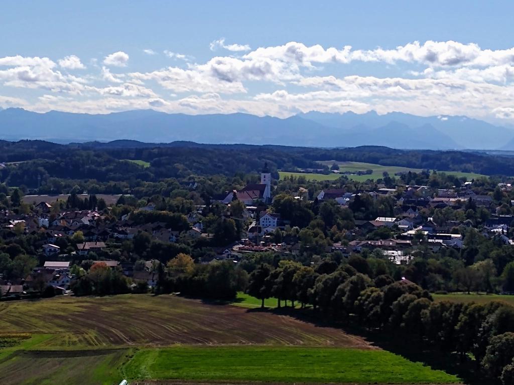 Aussicht vom Aussichtsturm Ludwigshöhe in Ebersberg