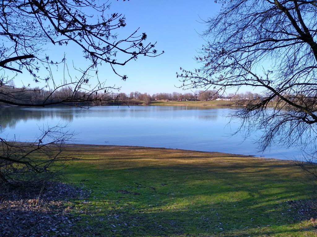 Blick auf den Heimstettener See