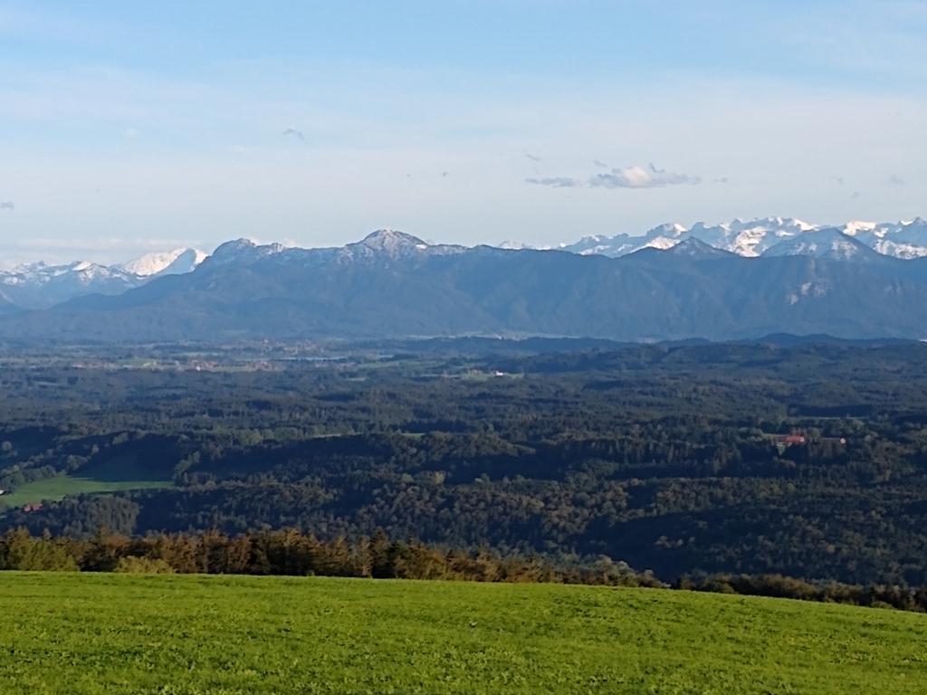 Aussicht vom Hohen Peißenberg