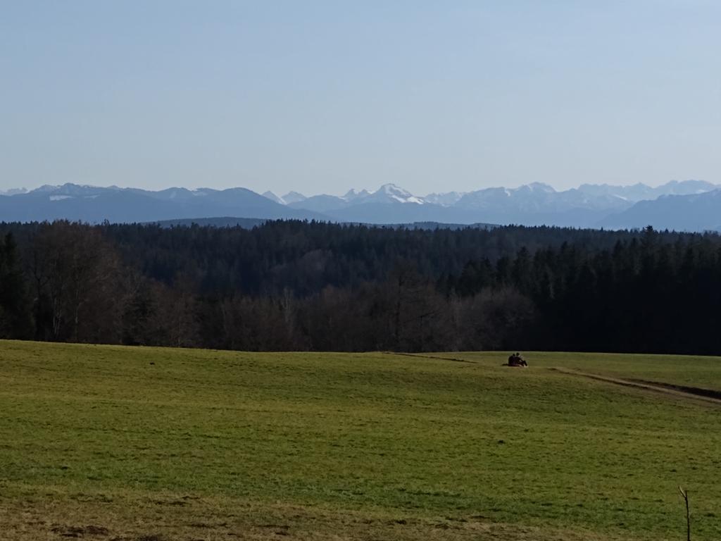Ausblick von der Ludwigshöhe bei Kleindingharting