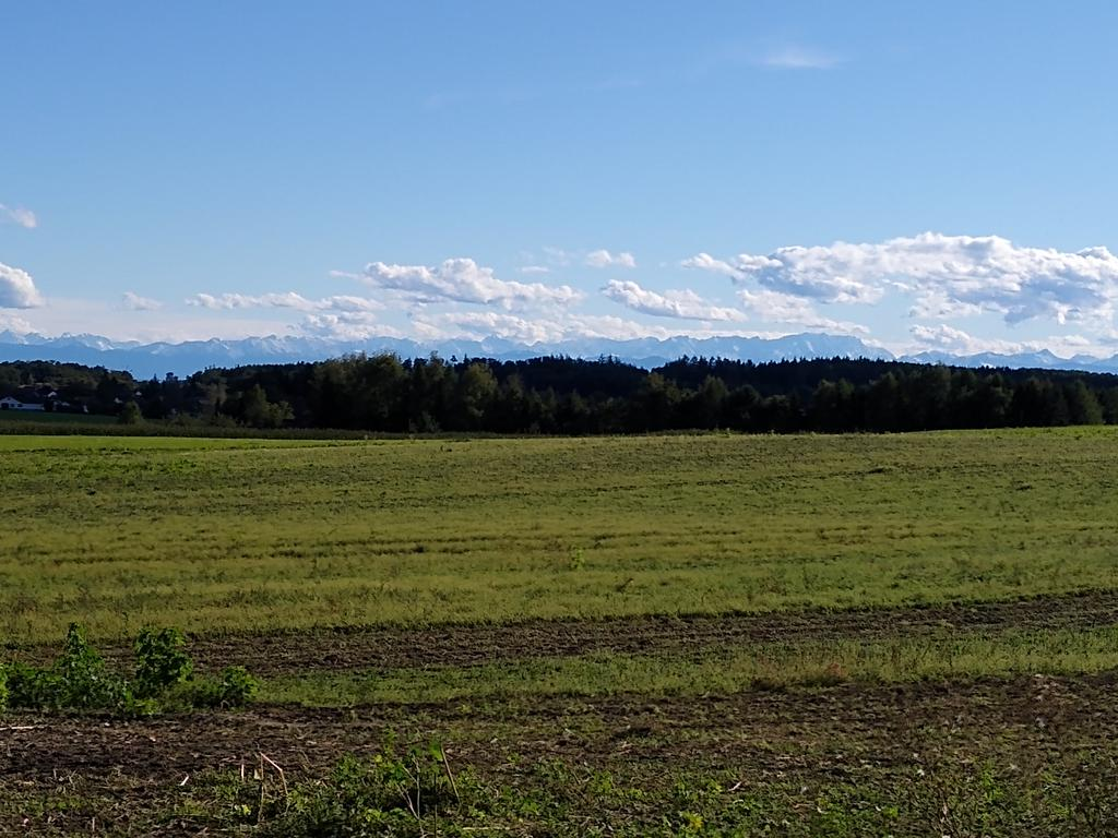 Aussicht vom Steingassenberg bei Türkenfeld